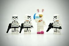 LEGO Stormtrooper Space Bunny