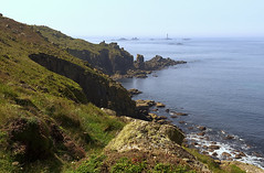 The other side (tonysemmens) Tags: landsend longships easter calm still cornwall kernow nikond7000 sigma1750mm