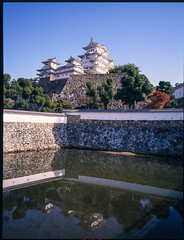 姬路城-1 (retrue) Tags: 日本 姫路城 兵庫県 姫路市 fuji ga645w fujifilm fujichrome velvia 100