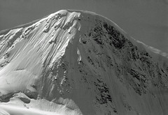 Parete Nord (1977) (giorgiorodano46) Tags: settembre1977 september 1977 arolla pignedarolla northface giorgiorodano vallese valais wallis alpi alpes alps alpen svizzera suisse schweiz switzerland bw blackwhite biancoenero