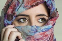 Ojos verdes (Green eyes) (borjamuro) Tags: eye eyes greeneyes eyeliner green ojos ojo ojosverdes verde look mirada portrait retrato beauty beautiful girl chica nikon d7100