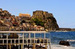 Scilla Rc Italy (Arcieri Saverio) Tags: calabria italia italy scilla reggiocalabria paesaggio lamdscapes mare blue pasqua castello castle medievale mediaeval