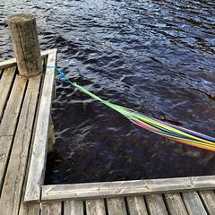 Fryken Chill (David Abresparr) Tags: värmland fryken sweden sverige lake sjö brygga jetty hammock hängmatta