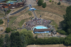The Sea Lion show at Pleasurewood Hills in Suffolk - aerial view (John D Fielding) Tags: pleasurewoodhills themepark sealions sealion lowestoft suffolk above aerial nikon d810 hires highresolution hirez highdefinition hidef britainfromtheair britainfromabove skyview aerialimage aerialphotography aerialimagesuk aerialview drone viewfromplane aerialengland britain johnfieldingaerialimages fullformat johnfieldingaerialimage johnfielding fromtheair fromthesky flyingover fullframe