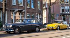Volvo Amazon P221 / Citroën ID 21 F Break (Skylark92) Tags: nederland netherlands holland noordholland northholland amsterdam zuid south volvo amazon p221 kombi dr6064 1967 citroën id 21 f break ah2707