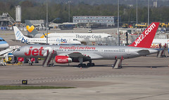 G-LSAH (Lucas31 Transport Photography) Tags: man manchester aviation planes aircraft boeing b757 jet2
