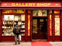 Gallery Shop (jeandelalune) Tags: prague store mucha art nouveau
