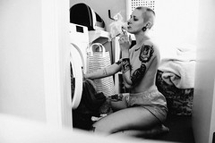DSC_0300 (Molle Cloroformo) Tags: cute cutegirl tattoos tattoobody tattoogirl blackandwhite photography