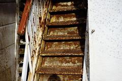 階段 (frenchvalve) Tags: 階段 錆び stairs rust film filmphotography analog 35mm