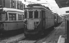 ATM 103 Tram (Milano Vimercate) Deposito Vimercate 15/11/1980. Foto Roberto Trionfini (stefano.trionfini) Tags: tram milano vimercate atm lombardia italia italy