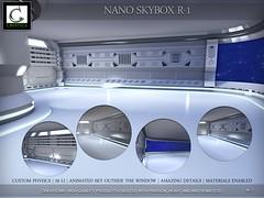 Nano skybox (CREATiCA) Tags: secondlife sl creatica store shop skybox scifi nano cyber backdrop dubai dubaievent item