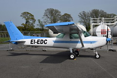 EI-EDC Cessna FA152 NFC (eigjb) Tags: weston airport eiwt dublin ireland plane spotting general aviation aircraft 2019 eiedc cessna c152 nfc cessna152 national flight centre irish light
