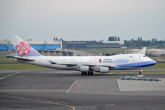 China Airlines Cargo B-18718 Boeing 747-409F cn/30770-1348 @ EHAM / AMS 12-10-2016 (Nabil Molinari Photography) Tags: china airlines b18718 boeing 747409f cn307701348 eham ams 12102016