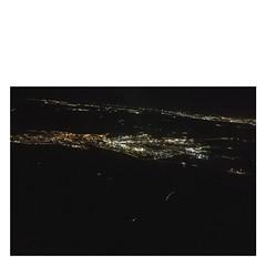 · Madrid · (marianarozasm) Tags: madrid españa spain europa europe noche ciudad city night plane avion travel traveling trip viaje viajar
