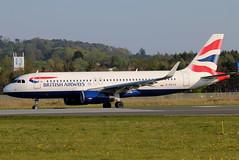 G-EUYX (GH@BHD) Tags: geuyx airbus a320 a320200 a320232 ba baw britishairways speedbird shuttle unionflag bhd egac belfastcityairport aircraft aviation airliner