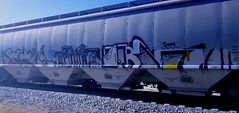 (timetomakethepasta) Tags: aub freight train graffiti art hopper grainer