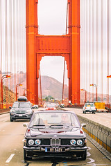 Across the Golden Gate (Thomas Hawk) Tags: 30cs america bmw bmw30cs bmwe9 bavarianmotorworks bayarea california chloe e9 goldengatebridge sf sfbayarea sanfrancisco scottjordan standardpoodle usa unitedstates unitedstatesofamerica westcoast auto automobile bridge car classiccar dog poodle sharknose ultimatedrivingmachine vintagecar werks sausalito fav10 fav25 fav50 fav100