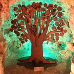 Crystal Shrine Grotto: Zacchaeus up a tree thumbnail