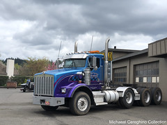 All-Ways Towing & Heavy Haul Kenworth T800W (Michael Cereghino (Avsfan118)) Tags: allways towing kw t800w t800 t 800 800w wide hood tractor bobtail truck semi heavy haul hauling all ways 4 axle quad kenworth