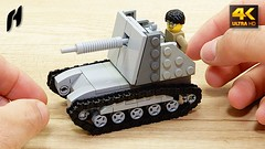 How to Build a Self-Propelled Gun (MOC - 4K) (hajdekr) Tags: lego buildingblocks assemblyinstructions guide buildingguide tuto tutorial tip help tips stepbystep inspiration design manual moc myowncreation instruction instructions toy model buildingbricks bricks brick builder buildingtoy selfpropelledgun self propelled gun weapon easy simple track tracked spg artillery tread transport самоходнаяустановка самоходная установка су76 wheel