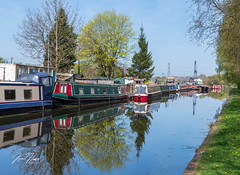 Reflecting Canal (hussey411) Tags: amateurphotography photographer photography canallife nikon 35mm reflection reflections narrowboat canal