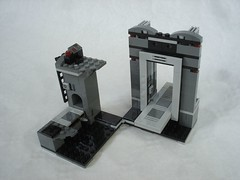 75229 - parts assembly (fdsm0376) Tags: lego set review 75229 death star escape wars leia princess organa luke skywalker stormtrooper mouse droid