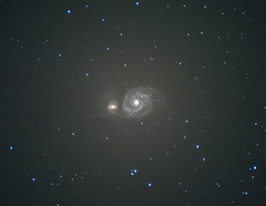 M51 (ukmjk) Tags: m51 celestron c6r nikon d750 deep sky astro astronomy back yard staffordshire stoke