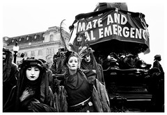 Emergency (Adam Lee Guitarist) Tags: climate emergency girls ladies dressup fancy dress blood earth london londoner londoners protest protestors extinction rebellion extinctionrebellion leica m6 carl zeiss biogon 35mm f28 ilford fp4 plustek opticfilm 8100 piccadilly circus demonstration demonstrators demonstrator protestor street photography reportage social documentary make making history red black white monochrome noir mono rodinal semistand development flickr explore award exploration exploring
