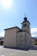 Eglise Saint-Bernard de Menthon @ Menthon-Saint-Bernard @ Hike to Château de Menthon-Saint-Bernard, Rochers des Moillats & Ermitage de Saint-Germain (*_*) Tags: april afternoon spring printemps 2019 sunny europe france hautesavoie 74 annecy savoie hiking walk marche randonnee nature mountain montagne menthonsaintbernard church catholic christian eglise