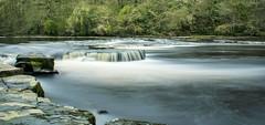River Tees (alderson.yvonne) Tags: river tees water waterflow longexposure early spring rivertees durham northyorkshire waterfall