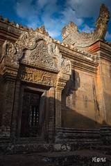 Cambogia - Luce calda e buio (iw2ijz) Tags: preah vihear temple tempio luce light cambogia cambodia d500 reflex nikon viaggio trip travel roccia rock