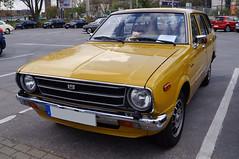 1978 Toyota Corolla E50 Kombi Front (Joachim_Hofmann) Tags: auto kraftfahrzeug kfz toyota corolla kombi e50