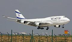 Boeing B747 ~ 4X-ELE  El Al (Aero.passion DBC-1) Tags: spotting 2012 cdg roissy airl airlines airliner airport dbc1 david biscove aeropassion avion aircraft aviation plane boeing b747 ~ 4xele el al