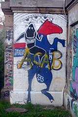 URBAN ART ALONG THE DANUBE CANAL IN VIENNA (artofthemystic) Tags: vienna danubecanal austria graffiti urbanart