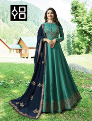 Latest Green Anarkali Dress (yoyo_fashion) Tags: