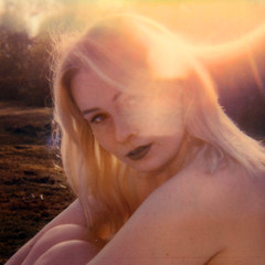 Sunset with Alex and Polaroid (unexpectedtales) Tags: polaroid nude