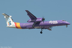 G-FLBD (Baz Aviation Photo's) Tags: gflbd bombardier dash 8q400 flybe bee be heathrow egll lhr 09l be2183