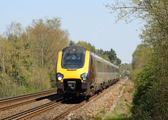 Holiday Diversion (Treflyn) Tags: holiday diversion unidentified cross country class 220 voyager speed south portsmouth direct line liss diverted birmingham new street bournemouth service regular route closed engineering work take place