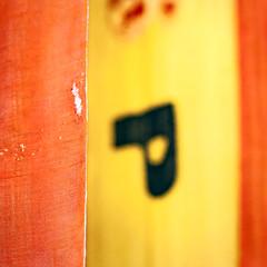 P (World Citizen J) Tags: travel cuba museo municipal lahabana havanna kuba flag spanish orange red yellow p abstract square tatted raddled zerschlissen fahne palacio capitanesgenerales