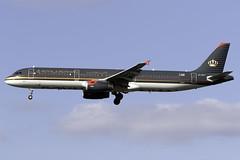 Royal Jordanian A321 JY-AYT at London Heathrow LHR/EGLL (dan89876) Tags: royal jordanian airbus a321 jyayt london heathrow international airport 27l lhr egll