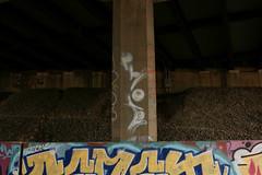 Phoe (NJphotograffer) Tags: graffiti graff new jersey nj trackside rail railroad bridge phoe