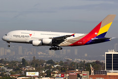 Asiana Airlines | Airbus A380-800 | HL7640 | Los Angeles International (Dennis HKG) Tags: aircraft airplane airport plane planespotting staralliance canon 7d 100400 losangeles klax lax asiana asianaairlines aar oz airbus a380 a380800 airbusa380 airbusa380800 hl7640