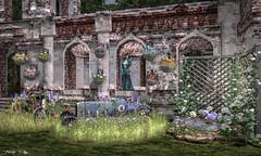 In the Garden... (Tonny Rey) Tags: events swank garden deco furniture woman thainodesigns