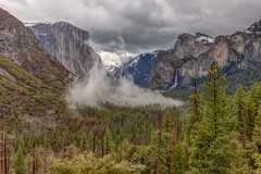 Misty Mountains (Greg Lundgren Photography) Tags: yosemite yosemitenationalpark nationalpark california travel mountains sierranevada vacation nature westcoast tunnelview bridalveilfalls elcapitan halfdome yosemitevalley