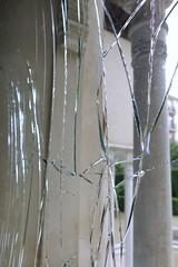 Crash (Micheo) Tags: spain alcazargenil vertical vacio empty solitario lonely soledad granada españa crash rotura broken cristal glass ventana window