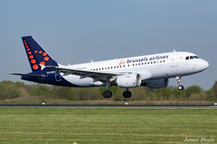 Brussels OO-SSB A319 at Manchester Airport 19-04-19 (JH Aviation and Railway Photography) Tags: brussels airliner airport aircraft aviation airways airlines aviationviewingpark avp airbus a319 egcc manchester manchesterairport jetliner jet jets