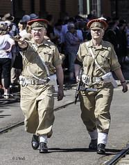 Crich 1940s Weekend 2019 pic12 (walljim52) Tags: crichtramwayvillage crich derbyshire 1940s event actor reenactor wartime ww2 soldier civilian military uniform costume