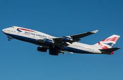 EGLL - Boeing 747 - British Airways - G-CIVB (lynothehammer1978) Tags: egll lhr heathrow heathrowairport londonheathrow britishairways ba gcivb