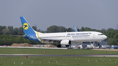 UR-PSM Boeing 737-8FZ (Disktoaster) Tags: dus düsseldorf airport flugzeug aircraft palnespotting aviation plane spotting spotter airplane pentaxk1