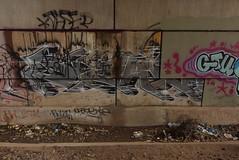 ? (TheGraffitiHunters) Tags: graffiti graff spray paint street art colorful nj new jersey trackside wall